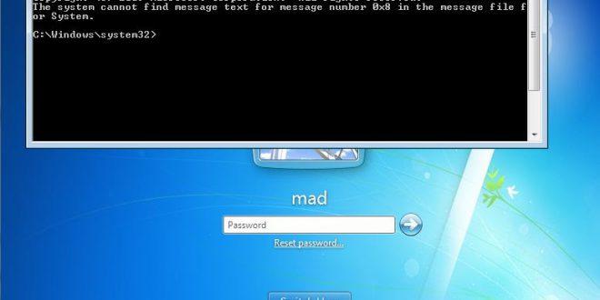 Windows – Lanciare CMD senza login