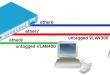 Mikrotik VLAN Hybrid